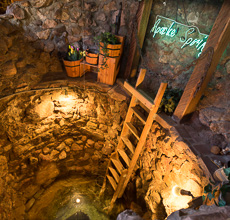 Ask to see The Apache Springs Well on our lower level.